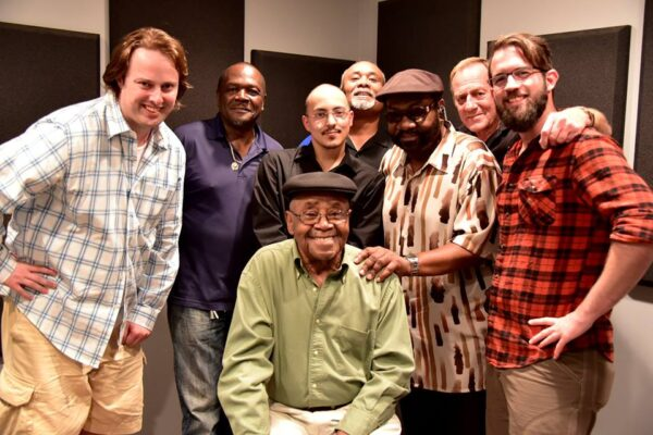 In the Studio with Harold Winley and THE CLOVERS