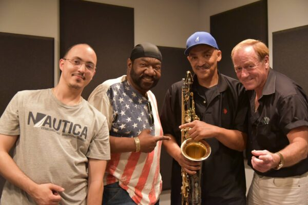 In the Studio with King Raymond Green and Lenny Harris