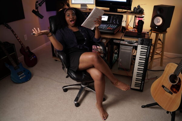 LiiYa in the Studio